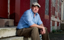 "David Simon, whose series ""Show Me a Hero"" debuts on HBO this week."