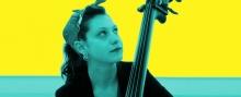 Eleonore Oppenheim, solo bass.