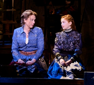 Carolee Carmello and Sara Charles Lewis in the Alliance Theatre Production. Photo by Greg Mooney.