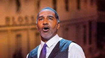 """Ol' Man River,"" one of the show's greatest hits, gets a moving performance from Tony-nominated actor Norm Lewis. Photo by Chris Lee."