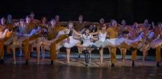 Cast and crew of Billy Elliot. Photo by Adam Sorenson
