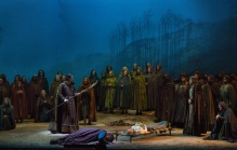 A scene from Wagner's Tannhäuser. Photo by Marty Sohl/Metropolitan Opera.