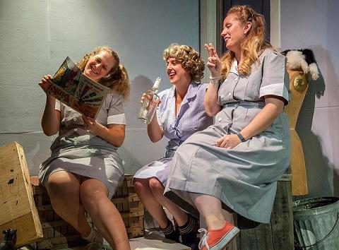 Katie K. Snyder, Nellie Rustick & Elizabeth Corey. Photo by Daniel Region.