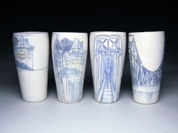 Ceramics got little respect from some, but to Nicole Aquillano their possiblities are endless.