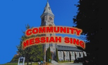 The First Congregational Church in Great Barrington will host the Berkshire Bach Messiah Sing.