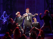 Austin McKenzie as Melchior in Spring Awakening
