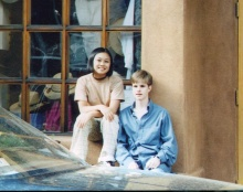 Director Michele Josue and Matt Shepard in 1995.