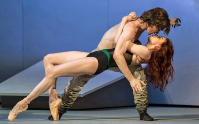 The Bolshoi's Taming of the Shrew is hot.