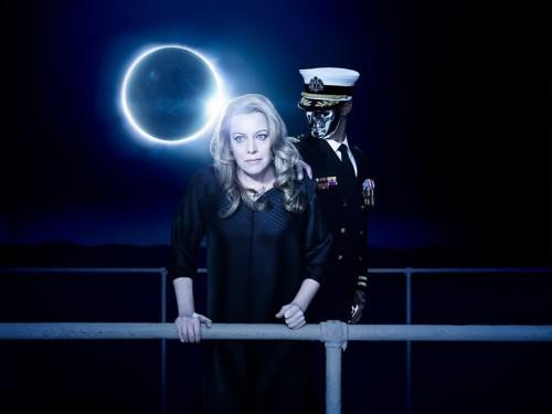 Nina Stemme as Isolde in Mariusz Treliński's new production of Wagner's Tristan und Isolde. Photo by Kristian Schuller/Metropolitan Opera.