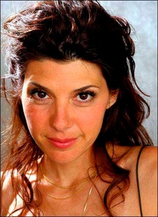 Marisa Tomei plays Serafina in The Rose Tattoo by Tennessee Willliams.