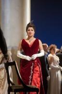Anna Netrebko as Tatiana in Tchaikovsky's Eugene Onegin. Photo by Ken Howard/Metropolitan Opera.