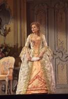 "Renée Fleming as the Marschallin in Strauss's ""Der Rosenkavalier."" Photo: Ken Howard/Metropolitan Opera Taken during the rehearsal on October 6, 2009 at the Metropolitan Opera in New York City."