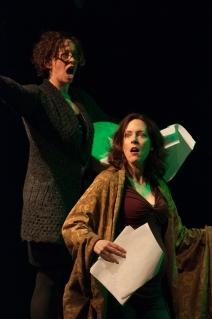 Suzi Banks Baum and Dana Harrison. Photo by Enrico Spada