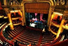 Boston's Colonial Theatre interior.