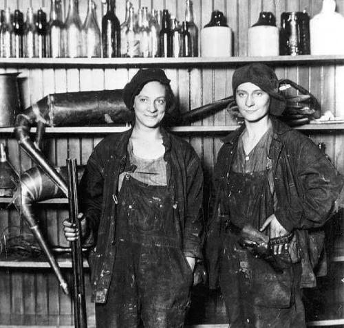 Lady Bootleggers.