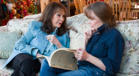 Loretta Lynn and SIssy Spacek.