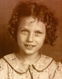 Portrait of Loretta Lynn as a child.