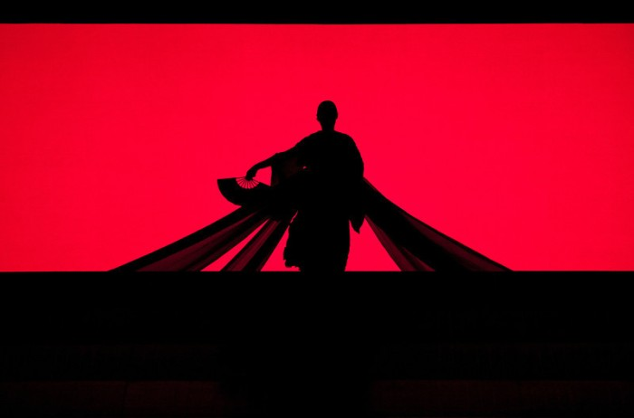 "A scene from Puccini's ""Madama Butterfly."" Photo: Marty Sohl/Metropolitan Opera."