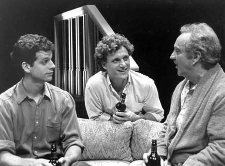 "Patrick Breen is another Williamstown Theatre Festival veteran. Here he is (l) with Tony Goldwyn (c) and (r) Richard Venture. Photo by Meredith D. Mitchell in ""The Sum of Us"" (1989)"