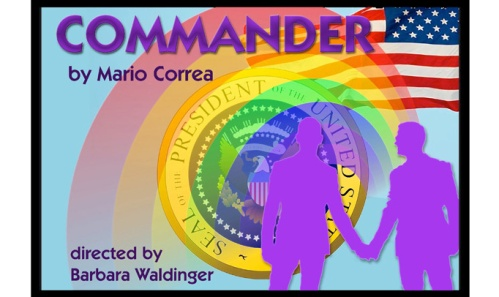 Commander, poster design by Joanne Kelly.