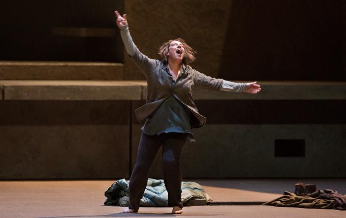 "Nina Stemme in the title role of Richard Strauss's ""Elektra"". Photo: Marty Sohl/Metropolitan Opera."