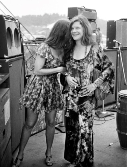Melissa Etheridge and Janis Joplin became more than good friends after they met up at Woodstock.