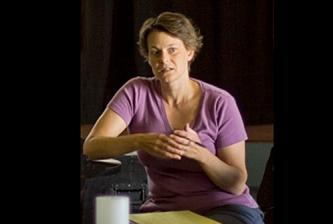 """Krissten van Ginhoven directs """"Waxworks""""."""