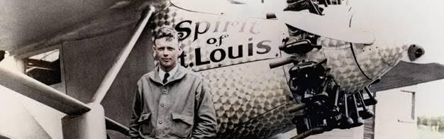 Famed cross-Atlantic aviator Charles A. Lindbergh.