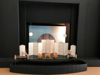 The preliminary stage design by Stephen Dobay.