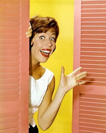 Carol Burnett in the late 1960s. Photo TJL Productions.