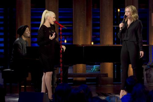 Christina Aguilera and Chelsea Handler sing Happy Birthday