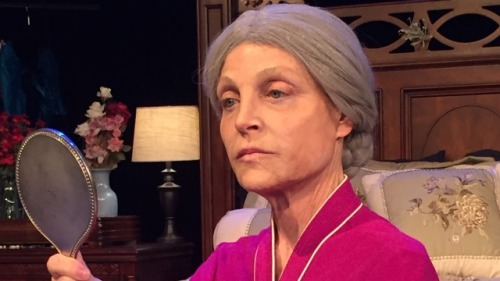 Roxanne Fay plays an 80-year-old Alice in Dream Child: The Trial of Alice in Wonderland.