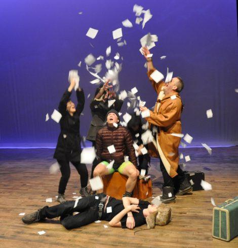 Kickwheel Ensemble: Passage