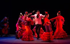 Juan Siddi Flamenco Santa Fe; photo Rosalie O'Connor