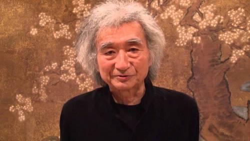 Seiji Ozawa ailing.