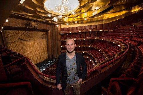 Yannick Nézet-Séguin. Photo by Jonathan Tichler/Metropolitan Opera.