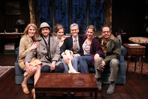 Cast: Ashton Heyl, Richard Gallagher, Caitlin Clouthier, Mark Light-Orr, Jenni Putney, Dave Mason. Photo by Rob Strong.