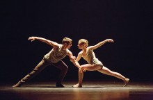 Craig Black and Emily Proctor of Aspen Santa Fe Ballet; photo Rosalie O'Connor.