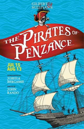 The Pirates of Penzance poster.