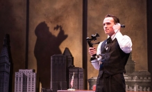 Austin Lombardi as Fiorello LaGuardia. Photo by Emma Rothenberg-Ware.