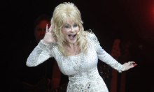 Dolly Parton at Tanglewood on June 17, 2016