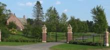 High Lawn gates.
