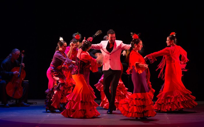 Juan Siddi Flamenco Santa Fe; photo Rosalie O'Connor.