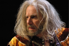 Jonathan Epstein as King Lear in a 2007 production at Orlando Shakespeare Theater. Photographer Rob Jones.