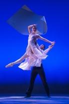 "Chloe Felesina and Richard Villaverde of BalletX in ""Sunset, o639 Hours""; photo Christopher Duggan."