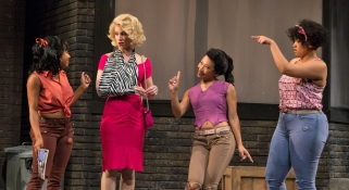 Little Shop of Horrors at the Colonial Theatre, photos by Emma K. Rothenberg-Ware.