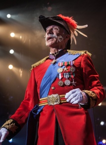 David Garrison is a Modern Major General. Photo by Kevin Sprague.
