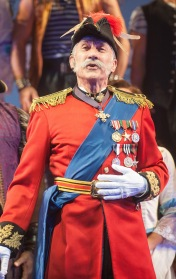 David Garrison as the MajorGeneral. Photo by Kevin Sprague.