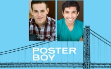 "The conflicted relationships between Taylor Trensch (l) and Levin Valayil (r) are the subject of ""Poster Boy""."