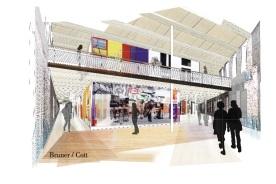 Designer's Conception by Bruner/Cott & Associates.